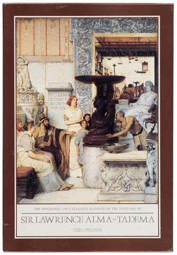(ALMA-TADEMA, LAWRENCE.) Swanson, Vern G. The Biography and Catalogue Raisonné of the Paintings of Sir Lawrence Alma-Tadema.