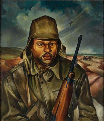 ROBERT NEAL (1916 - 1987) Rearguard.