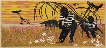 WALTER WILLIAMS (1920 - 1988) Harvest.