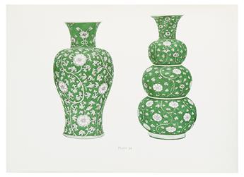 (CHINESE ART / CHINA.) Gorer, Edgar; and Blacker, J.F. Chinese Porcelain and Hard Stones.