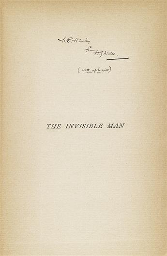 WELLS, H.G. Invisible Man.