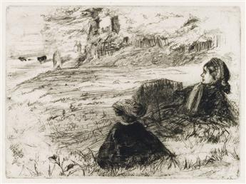 JAMES A. M. WHISTLER Nursemaid and Child.