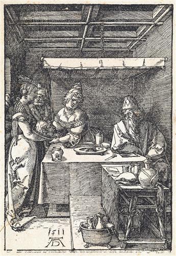 ALBRECHT DÜRER Salome Receiving the Head of Saint John the Baptist.