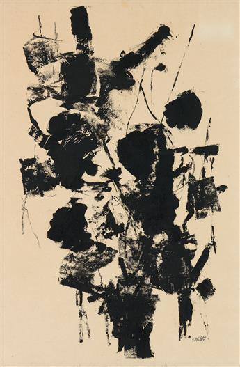 JOHN VON WICHT Black and White Drawing #2.