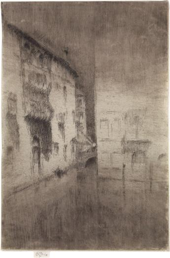 JAMES A. M. WHISTLER Nocturne: Palaces.