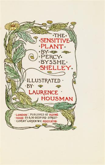 (CARDEW, GLORIA / GUILD OF WOMEN BINDERS.) Shelley, Percy Bysshe. The Sensitive Plant.