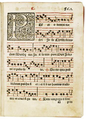 (MEXICAN IMPRINT--1604.) Navarro, Juan. Liber in quo quatuor passiones Christi Domini continentur.