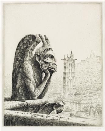 JOHN TAYLOR ARMS Le Penseur de Notre Dame.