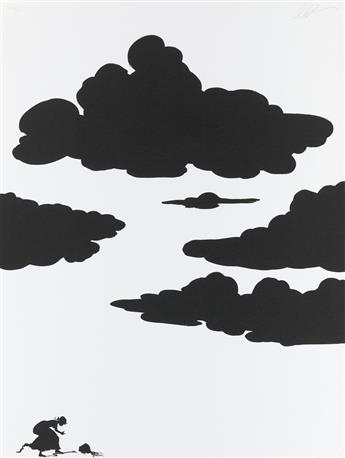 KARA WALKER (1969 -   ) Untitled.