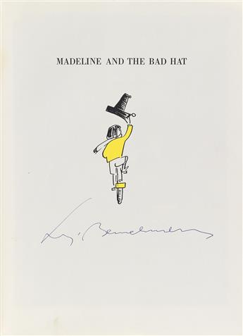 (CHILDRENS LITERATURE.) BEMELMANS, LUDWIG. Madeline and the Bad Hat.