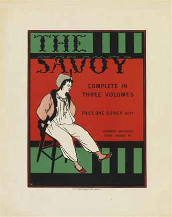 AUBREY BEARDSLEY (1872-1898). THE SAVOY. 1896. 12x10 inches, 31x25 cm. C.F. Kell, London.