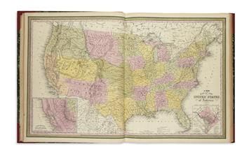 THOMAS, COWPERTHWAIT & CO.; and MITCHELL, SAMUEL AUGUSTUS. A New Universal Atlas