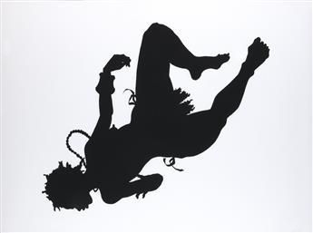 KARA WALKER (1969 -  ) African-American.
