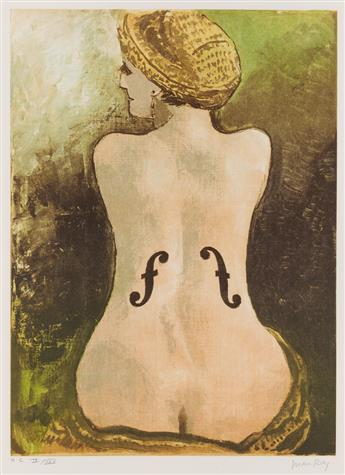 MAN RAY Le Violin dIngres.