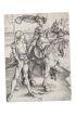 ALBRECHT DÜRER Lady on Horseback and the Lansquenet.