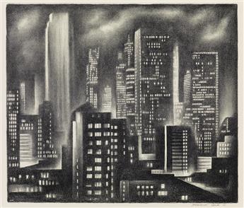 HOWARD COOK New York Night.