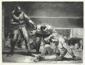 GEORGE BELLOWS The White Hope.