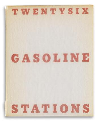 EDWARD RUSCHA. Twentysix Gasoline Stations * Various Small Fires and Milk * Every Building on the Sunset Strip * Thirtyfour Parking Lot