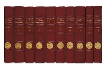 HIPPOCRATES. Oeuvres Complètes.  10 vols.  1839-61