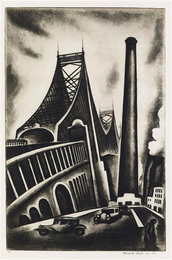 HOWARD COOK Queensboro Bridge.