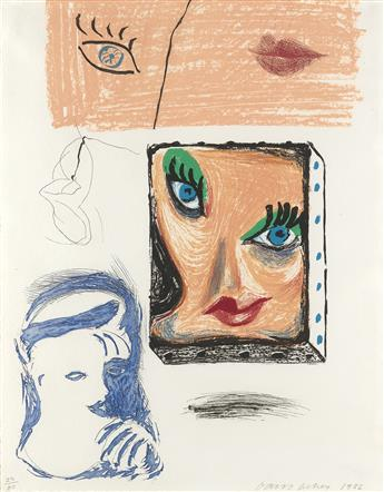 DAVID HOCKNEY An Image of Celia Study.
