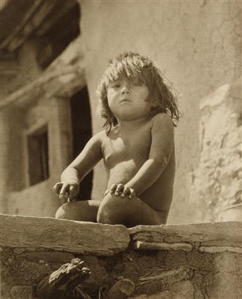 FREDERICK MONSEN (1865-1929) Native American child.
