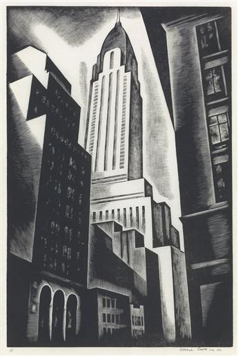 HOWARD COOK Chrysler Building.