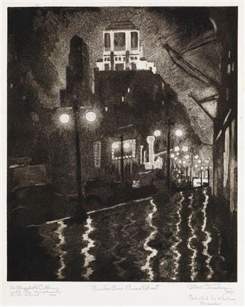 ALLAN FREELON (1895 - 1960) Number One, Broad Street.