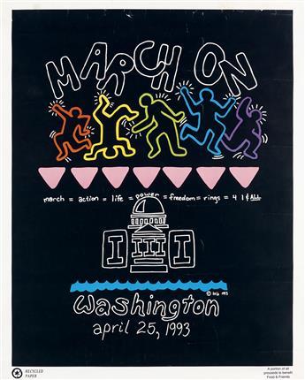 BTB (INITIALS UNKNOWN)  March on Washington.