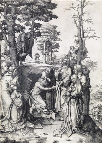 LUCAS VAN LEYDEN The Raising of Lazarus.
