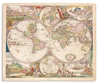 DANCKERTS, JUSTUS. Nova Totius Terrarum Orbis Tabula.