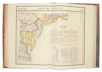 VANDERMAELEN, PHILIPPE. Atlas Universel de Geographie Physique, Politique, Statistique et Mineralogique.