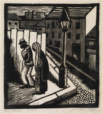 JAMES LESESNE WELLS (1902 - 1992) Barry Place.