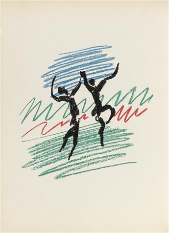 (PICASSO, PABLO.) Mourlot, Fernand. Picasso Lithographe III and IV [1949-1963].