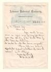 Civil War. HILL, D. H. Autograph Letter Signed,