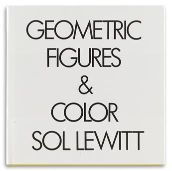 LEWITT, SOL / CONTEMPORARY ART. Geometric Figures & Color.