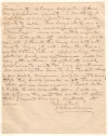 Civil War. IMBODEN, JOHN D. Autograph Letter Signed,
