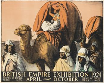 GERALD SPENCER PRYSE (1881-1956). BRITISH EMPIRE EXHIBITION. 1924. 39x50 inches, 100x127 cm. Vincent Brooks Day & Son Ltd., London.
