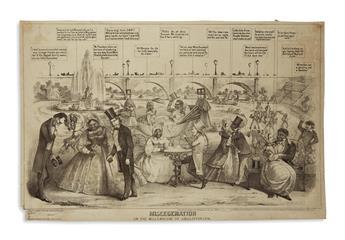 (PRINTS--CARTOONS.) Miscegenation or the Millennium of Abolitionism.