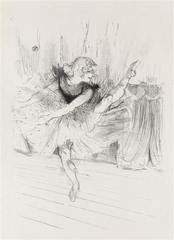 HENRI TOULOUSE-LAUTREC Miss Ida Heath, Danseuse Anglaise.