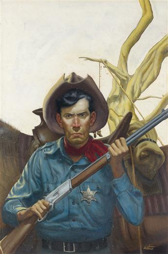 (PULP / WESTERN) RAY LUSTICA. U.S. Marshal.