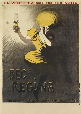 LEONETTO CAPPIELLO (1875-1942). BEC REGINA. 1901. 54x38 inches, 137x98 cm. P. Vercasson & Cie., Paris.