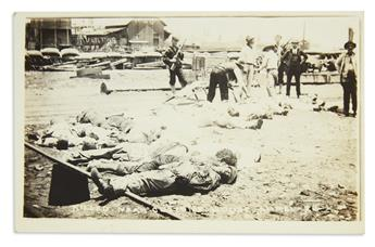(MEXICO.) Group of Real Photo postcards and other photographs of the Mexican Revolution.