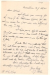 Civil War. PORTER, FITZ JOHN. Group of 4 Autograph Letters Signed and a Signature on a small sheet.