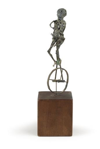 RICHARD HUNT (1935 -  ) Unicycle.