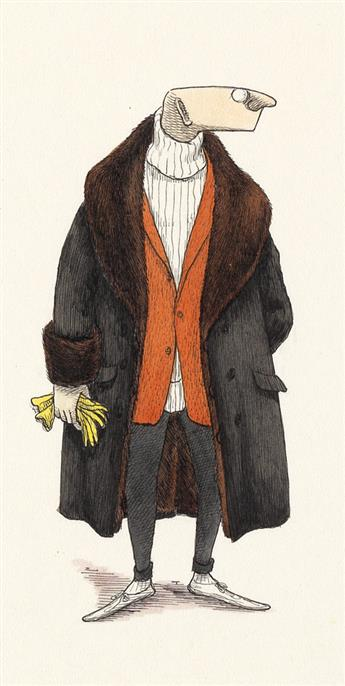 EDWARD GOREY. Mr. Earbrass.