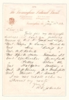 (CIVIL WAR--CONFEDERATE.) Group of 8 post-war Autograph Letters Signed by surviving officers,