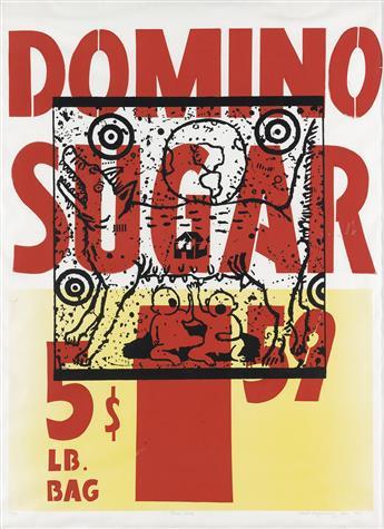DAVID WOJNAROWICZ (1954-1992)  True Myth / [Domino Sugar.]