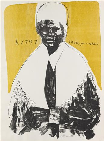 CALVIN BURNETT (1921 - 2007) Sojourner Truth (Ill Keep You Scratchin).