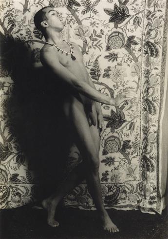 CARL VAN VECHTEN (1880-1964)  Portrait of Geoffrey Holder.